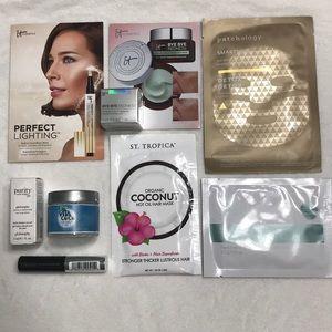 Hair, Skin, Makeup Trial Size Bundle Brand Names